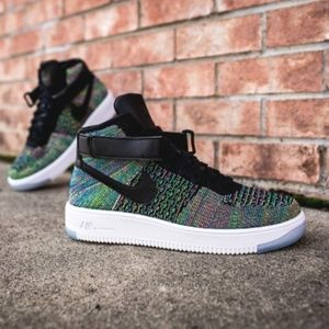 Nike Air Force 1 Ultra Flyknit Mid Multicolor